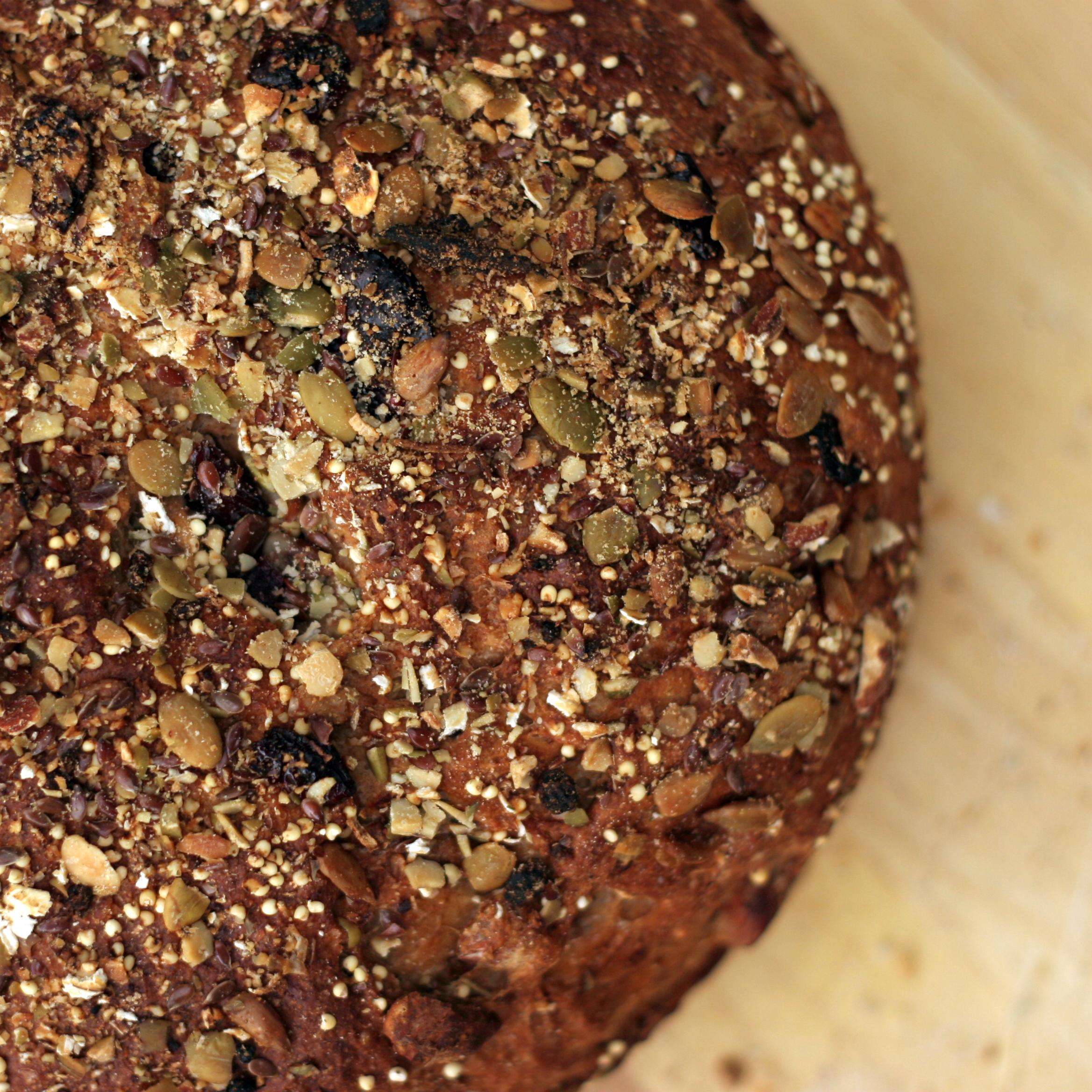 Overnight No-Knead Multi-Grain Bread | Bob Vivant
