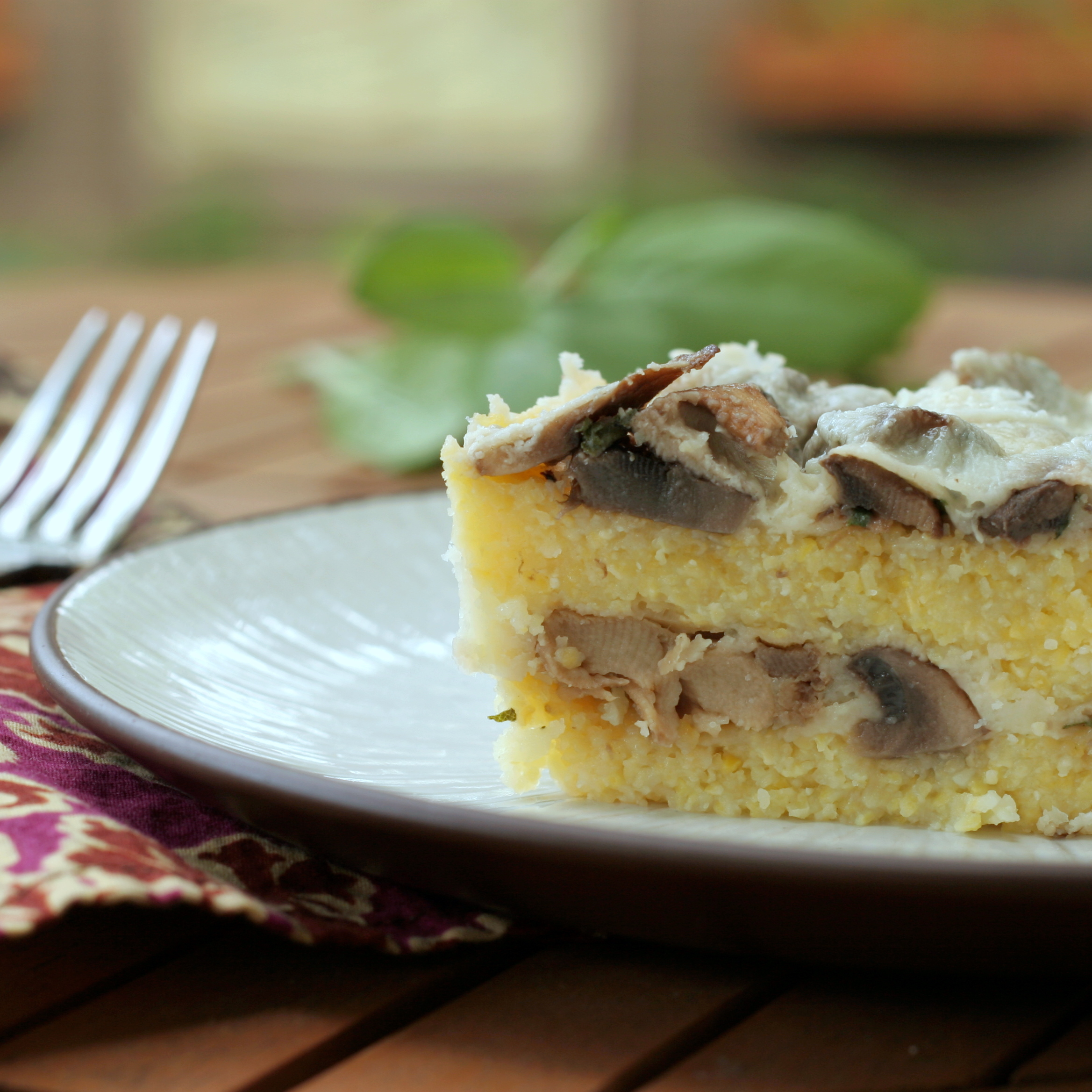 Baked Polenta With Mushrooms Recipes — Dishmaps
