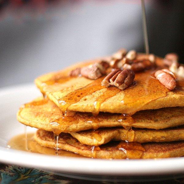 Whole Wheat Pumpkin Pecan Pancakes | Bob Vivant