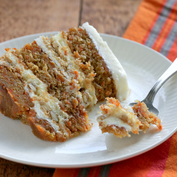 Breaking Rules and a Bourbon Pecan Carrot Cake | Bob Vivant