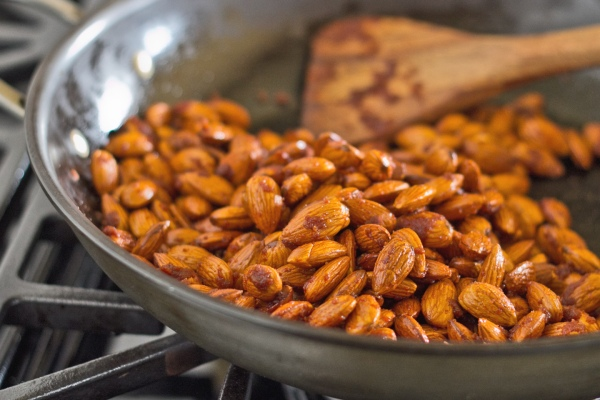 Roasted Almonds with Smoked Paprika and Sriracha Sauce