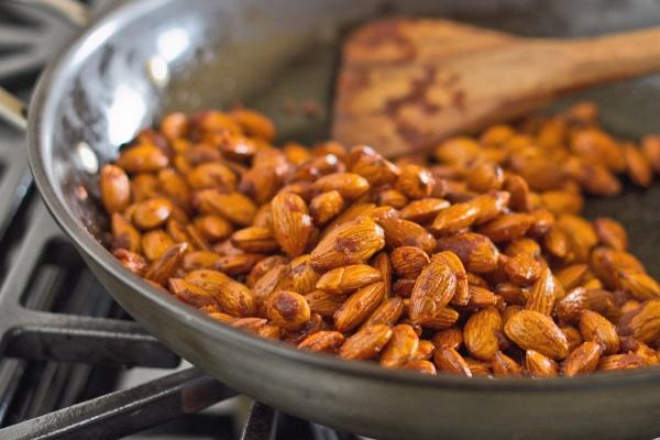 Roasted Almonds with Smoked Paprika and Sriracha Sauce