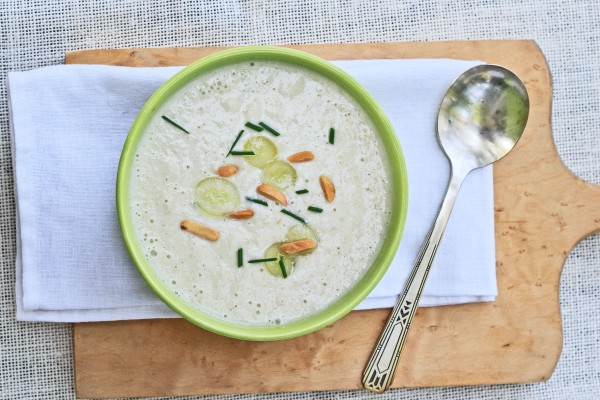 White Gazpacho White Grape and Almond Soup